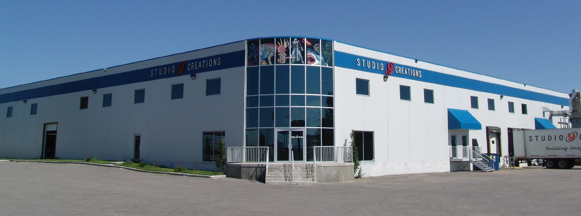 The Studio Y Creations Building
